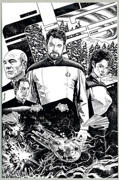 STAR TREK: THE NEXT GENERATION: THIN ICE by Jerome-K-Moore on deviantART