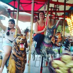 So this happened at the carnival the other day :) #sisters #carnival #family #familytime #bigsis #lilsis #fun #beautyfulday #theotherday by be_fierce_rawr