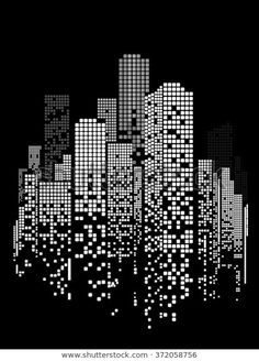 Find Vector Design Building City Illustration Night stock images in HD and millions of other royalty-free stock photos, illustrations and vectors in the Shutterstock collection. Thousands of new, high-quality pictures added every day. Illustration Vector, City Illustration, Fourth Of July Crafts For Kids, Black Paper Drawing, Building Illustration, City Scene, Instagram Story Ideas, City Buildings, Dot Painting