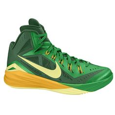 Nike Hyperdunk 2014 - Men\u0027s (Green \u0026 Gold)