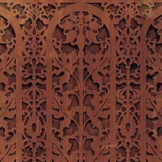 Border Stencils | Carved Arch Classic Panel | Royal Design Studio Just incredible!! Talk about an impressive project!