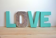 "Letter like this, but spell ""Dream"", for the guest bedroom."