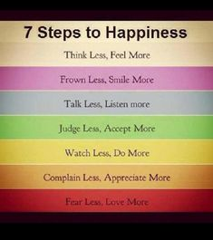 Steps to Happiness - Gagthat!