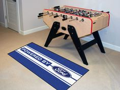 "MY TEAM MATS - Ford - Ford Oval with Stripes Runner  19"" X 30"", $47.99…"