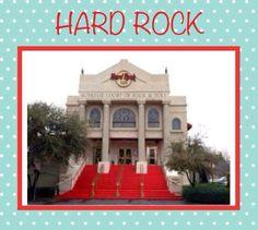 Originally a church, the Hard Rock Cafe, McKinney Avenue, Dallas, Texas was later torn down.