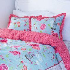 PiP Studio sängkläder - Birds in Paradise, ljusblå