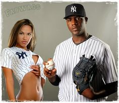 We have been hearing a lot from Michael Pineda, the Dominican MLB player currently a pitcher for the New York Yankees, and by hearing a lot we don't mean what we heard were nice things but rather embarrassing. We wonder if Michael Pineda is married or has a girlfriend, because if he does, Boy, she is not happy!! #mlbwags #yankeeswags #michaelpineda #girlfriend @fabwags