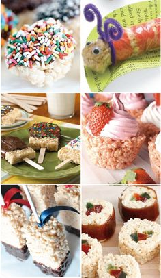 There's a Rice Krispies Treats® for every occasion! This collection of fun, themed desserts is perfect for serving up either a fruity, chocolatey, or chewy creation for your family.