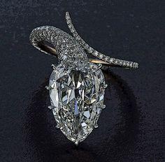 Taffin Diamond Snake Ring