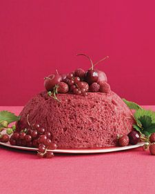 """See the """"Red-Fruit Summer Pudding"""" in our Spectacular Dessert Recipes gallery Summer Desserts, Holiday Desserts, No Bake Desserts, Just Desserts, Delicious Desserts, Custard Desserts, Yummy Food, Top Dessert Recipe, Dessert Recipes"""