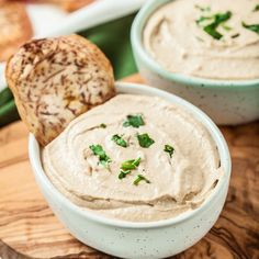 This super easy Tahini Sauce Dip is delicious, satisfying, and awesome for guilt-free dipping. It's Whole30 and Paleo, but really for anyone.