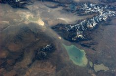 Twitter / AstroKarenN: Was fascinated by this so looked it up: The Dzungarian Gate, mountain pass between China & Kazakhstan. October 21. pic.twitter.com/QIFeYKKkt2...