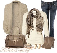 """""""Knitted Cardigan"""" by sanchez-gaby ❤ liked on Polyvore"""