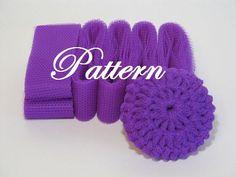 How To Make Kitchen Scrubbies | Scrubbie Pattern for nylon netting dish scrubbies