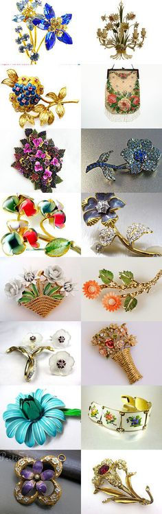 Flower Power Spring Is In The Air Shop Of The Day hipcricket #Vogueteam #Voguet. These are some of the wonderful finds you will find in the Vintage Vogue Team shops. You may search by vogueteam to find the shops and items. Celebrating Andrea Of hipcricket  Curator: Gena Lightle from https://www.etsy.com/shop/Kissisjustakiss