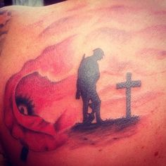 Lovely war memorial piece tattooed by Ash in the studio.Call us on 01253 932549, message our page, visit our website www.revivaltattoos.com or come see us on Whitegate Drive opposite the Belle Vue Pub