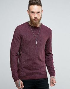 ASOS | ASOS Knitted Jumper In Metallic Yarn