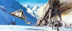 This Original Star Wars Concept Art Will Take You To A Galaxy Far, Far Away