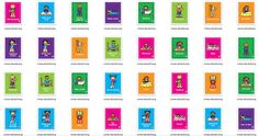 Láminas coloridas para crear hábitos y rutinas en los niños
