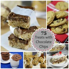 Awesome.. 75 Scrumptious Treats with Chocolate Chips {Playground Round-Up}