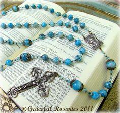Pretty rosaries.