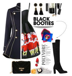 """11. Black booties contest"" by wannanna ❤ liked on Polyvore featuring NARS Cosmetics and Bobbi Brown Cosmetics"