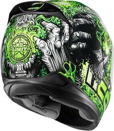 The worlds leading street based protective motorcycle apparel brand. Icon Helmets, Biker Helmets, Full Face Motorcycle Helmets, Custom Motorcycle Helmets, Custom Helmets, Biker Gear, Motorcycle Outfit, Custom Bikes, Motocross
