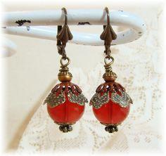 Valentine earring idea