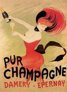"""""""Pur Champagne"""" Damery - Leonetto Cappiello"""
