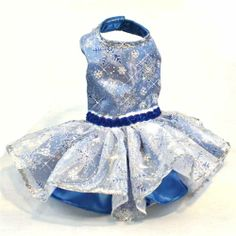 Organza Snowflake Dog Dresses for Christmas Holiday Party - $120.00