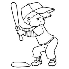 Top 20 Free Printable Sports Coloring Pages Online
