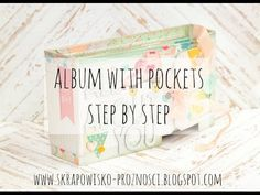 Tutorial: How to create album with pockets