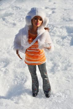 Barbie Made to move doll - winter