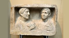 BCE) Roman Relief of a Freedman and Freedwoman Ancient Rome, British Museum, Roman, Sculptures, Photo And Video, Portrait, Headshot Photography, Roman Britain, Portrait Paintings