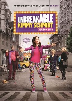 Unbreakable Kimmy Schmidt: Season Two [2 Discs] [DVD]