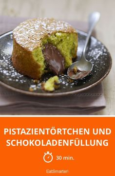 Pistazientörtchen und Schokoladenfüllung - smarter - Zeit: 30 Min. | eatsmarter.de