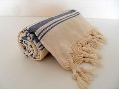 Turkish Towel Peshtemal Beach Towel Turkish by CottonBathTowels, $21.00