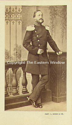 Frederick VIII, Herzog von Schleswig-Holstein (1829-1880)(Friedrich von Schleswig-Holstein-Sonderburg-Augustenburg)   Son of Christian, Duke of Augustenburg and Louise Sophie, Countess Danneskiold-Samsoe. In 1856 he married Princess Adelheid of Hohenlohe-Langenburg.