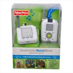 Musical Baby Monitor  Price: $60.00