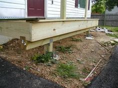 How To Build A Front Porch Grouth House Roof Building