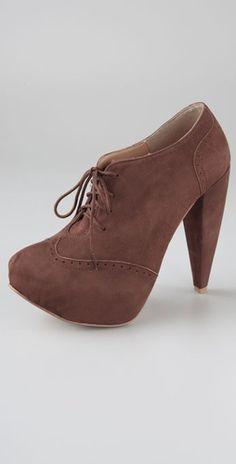 2c50301eea0a brown heel boots low Brown Heels