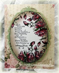 Stamps - North Coast Creations Crave the Rose