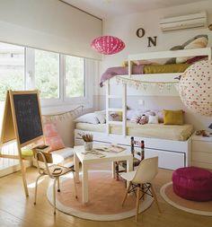 פתרון למיטת קומותיים ליד חלון