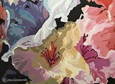 Rhodys Multi Acrylic SM by Joie McClements Acrylic ~  x