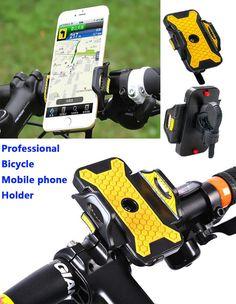 Universal Bike Bicycle Phone GPS Handlebar Holder Mount for iPhone 6S/6 Plus/5s/se Samsung Galaxy s7/s6edge Lg G4/G3 Sony Z5/Z4