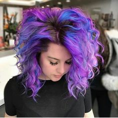 Gorgeous Galaxy Hair. For similar content follow me @jpsunshine10041