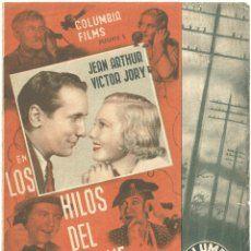 D LOS HILOS DEL CHISME PROGRAMA DOBLE COLUMBIA JEAN ARTHUR VICTOR JORY