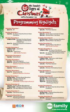 25 Days of Christmas 2012