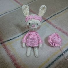 Daha çok daha çok detay #amigurumi #rabbit #bunny #amigurumirabbit #amigurumibunny #crochet #crochetdoll #gurumigram #handmade