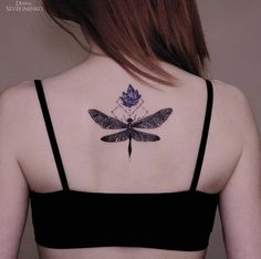 Dragonfly back piece by Diana Severinenko
